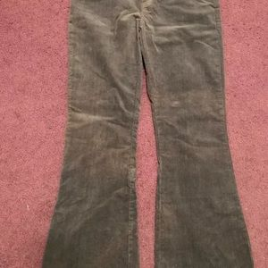 Juniors SO Stretch Flare Corduroy Jeans Gray - 11